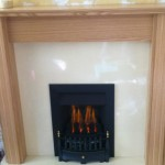 Gas fire Chester