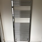 Towel rail installation in Wrexham