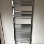 Towel rail installation in Wrexham