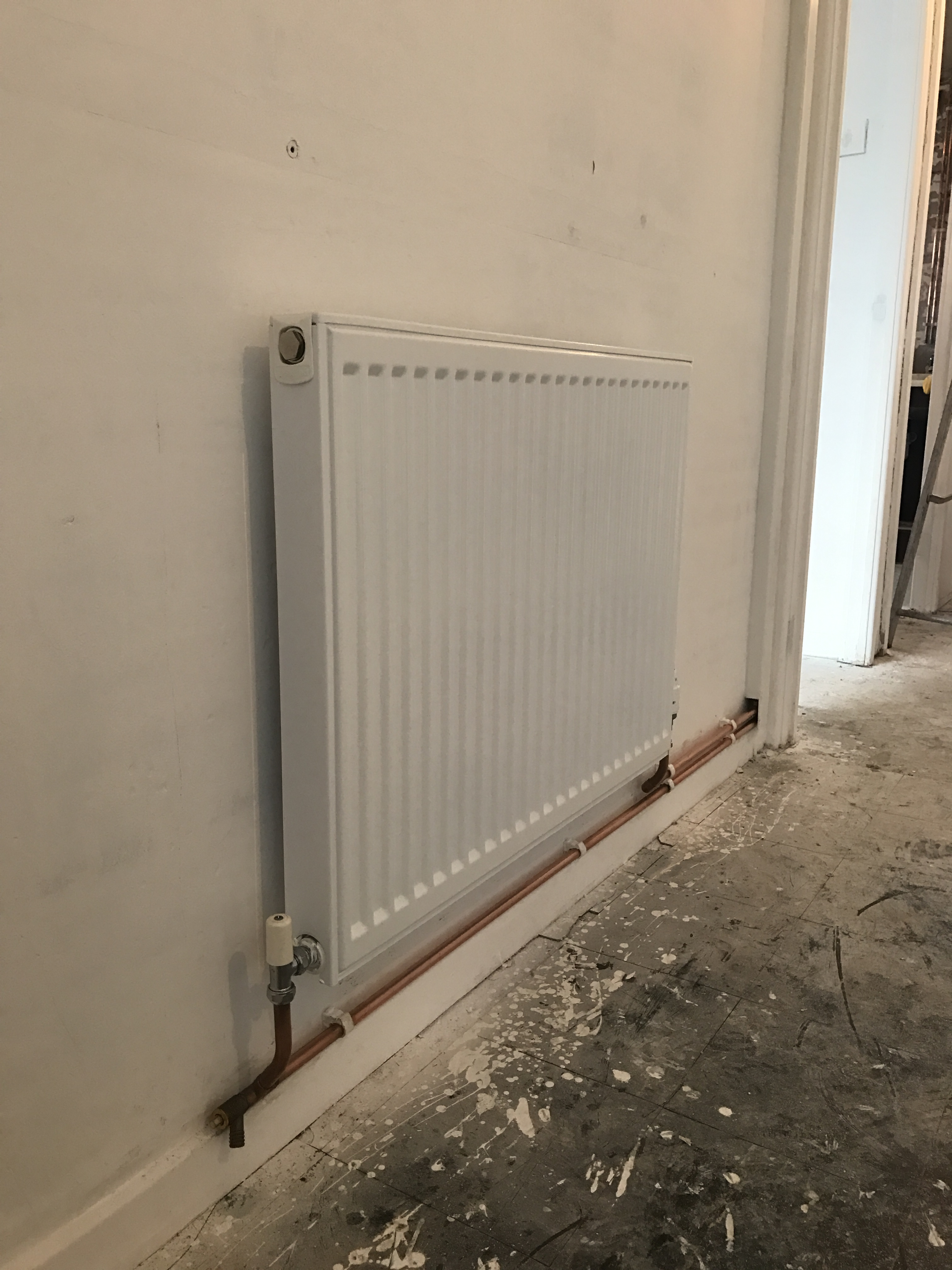 Stelrad Compact Radiator Installation In Winsford