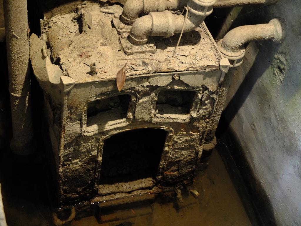 Broken boiler